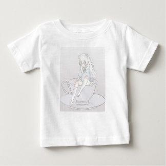 tiny pastel tea party baby T-Shirt