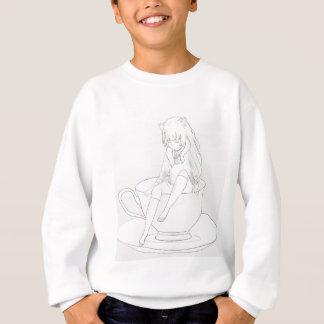 tiny pastel tea party sweatshirt
