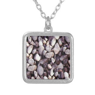 Tiny Pebbles Novelty Silver Plated Necklace