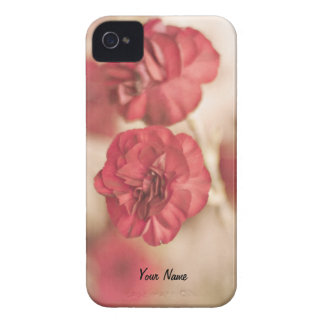Tiny Pink Flower Floral Print Blackberry Bold iPhone 4 Case-Mate Case