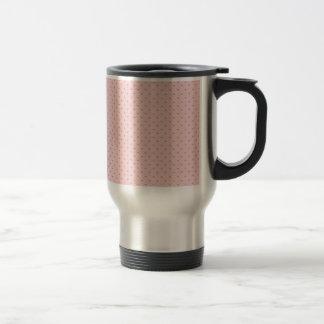 Tiny Pink Hearts Travel Mug