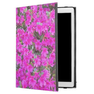 """Tiny Pink Rhododendrons Floral iPad Pro 12.9"""" Case"""