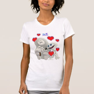 Tiny Planets All You need is Love T-Shirt