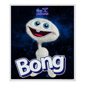 Tiny Planets Bong - Far Out! Poster