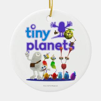 Tiny Planets Family Ceramic Ornament