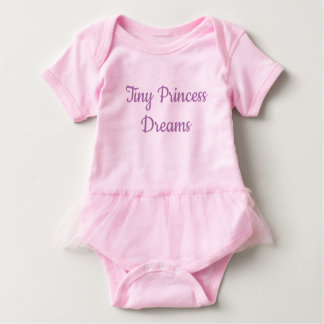 Tiny Princess Dreams Baby Bodysuit