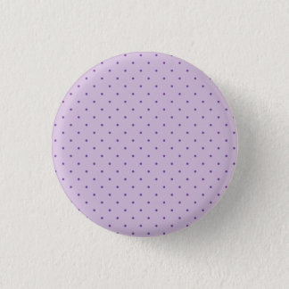 Tiny Purple Polka-Dots on Light Purple 3 Cm Round Badge