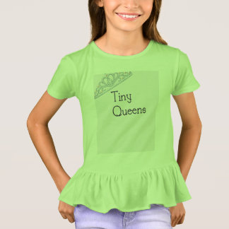 Tiny Queens Ruffle T T-Shirt