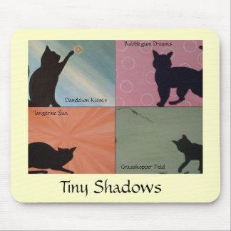 Tiny Shadows Cat Mousepad - YELLOW