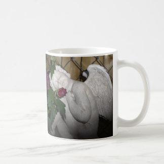 Tiny sleeping angel mug