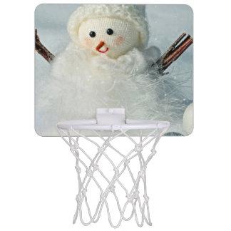 Tiny Snowman Mini Basketball Hoop