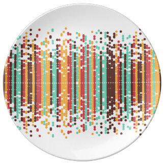 Tiny spheres plate