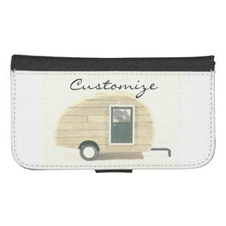 tiny teardrop gypsy caravan Thunder_Cove Samsung S4 Wallet Case