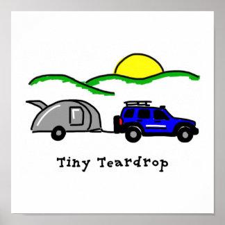 Tiny Teardrops Posters