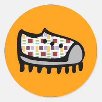 Tiny Tennie Round Sticker