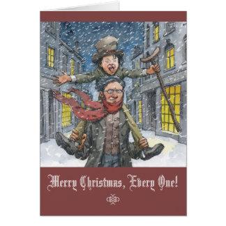 """""""Tiny Tim"""" Christmas Card"""