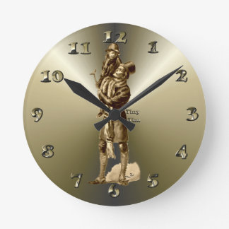 Tiny Tim Christmas Holiday Gift Clocks