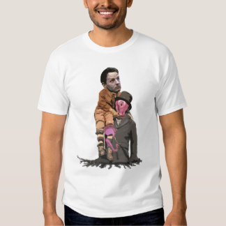 Tiny Tim Geithner and the Vampire Squid Tee Shirts