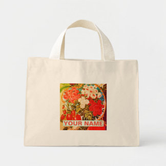 Tiny Tote  FLOWERS AND FRUIT FOR GARDEN LOVERS