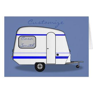 Tiny trailer gypsy caravan Thunder_Cove any color Card