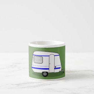 Tiny trailer gypsy caravan Thunder_Cove any color Espresso Cup