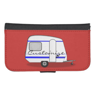 Tiny trailer gypsy caravan Thunder_Cove Samsung S4 Wallet Case