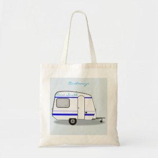 Tiny trailer gypsy caravan Thunder_Cove Tote Bag