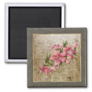 Tiny Vintage Floral Print 03 Magnet