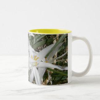 Tiny White Wildflowers Coffee Mug