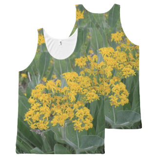 Tiny Yellow Flowers All-Over Print Singlet