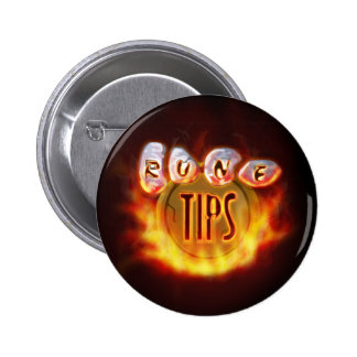 Tip.It Fire Logo 6 Cm Round Badge