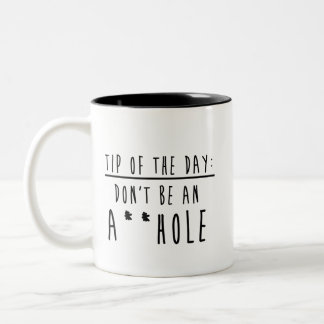 Tip of the day Two-Tone coffee mug