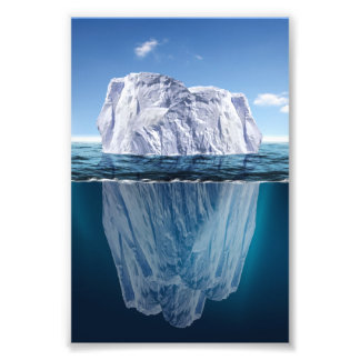 Tip of the Iceberg Photo Print