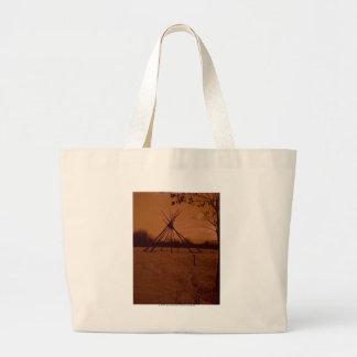 Tipi Frame Large Tote Bag