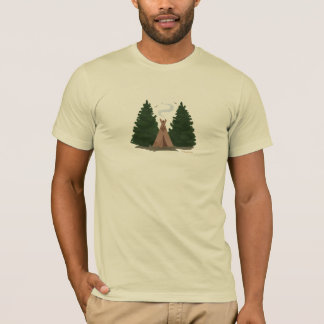 Tipi in the Woods T-Shirt