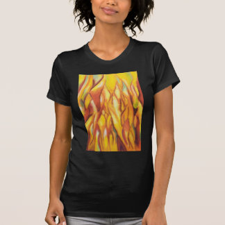 Tipped Flames (abstract expressionism) T-Shirt