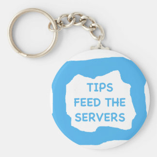 Tips feed the servers .png basic round button key ring