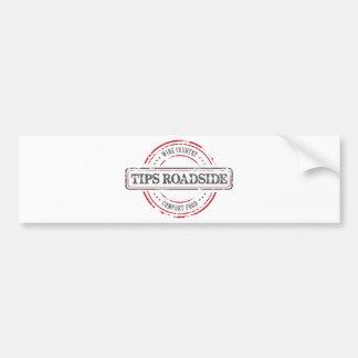 Tips Roadhouse Final Bumper Sticker