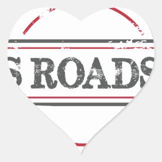 Tips Roadhouse Final Heart Sticker