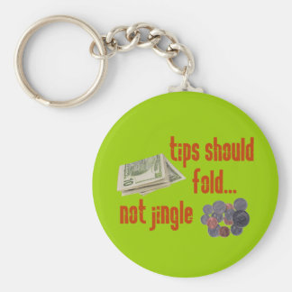 Tips should fold key ring