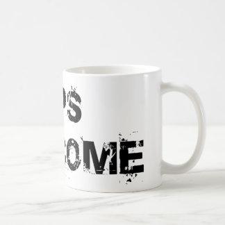 Tips Welcome Basic White Mug