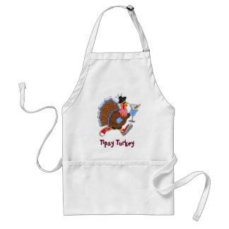 Tipsy Turkey (Martini) Standard Apron