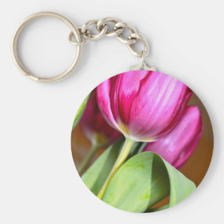 Tiptoe Through The Tulips Key Ring