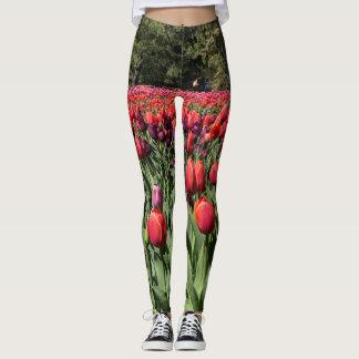 Tiptoe through the tulips leggings