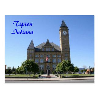 Tipton County Courthouse - Customized Postcard