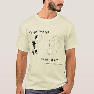 Tír gan teanga, tír gan anam T-Shirt