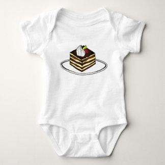 Tiramisu Italian Bakery Foodie Dessert Baking Baby Bodysuit