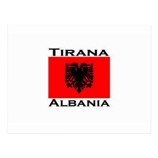 Tirana, Albania Postcard