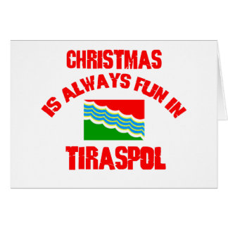 tiraspol CHRISTMAS DESIGNS Card