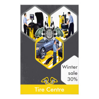 Tire Centre Discount Offer Flyer